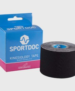 Kinesiologitape, sort - Kinesiology-tape