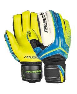 Målmandshandske, Reusch Pro G2, blå/gul