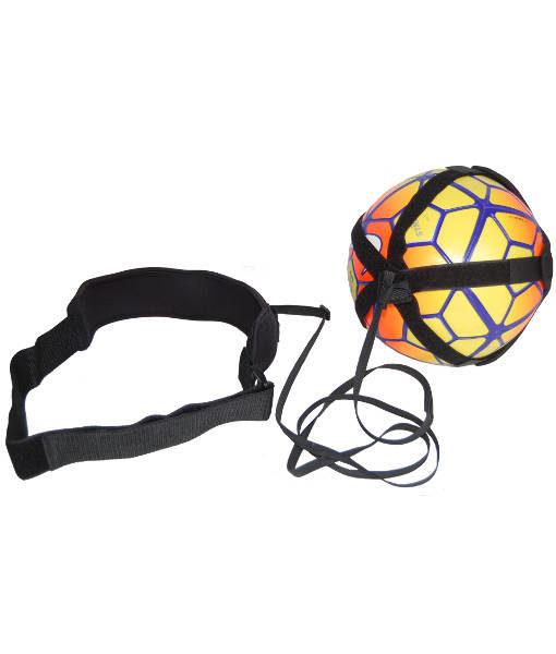 Fodbold selvtræner - fodbold med snor - fodbold med elastiksnor - teknik træner