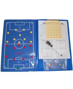 Fodbold taktikmappe taktiktavle