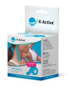 Kinesiologitape, K-Active Tape Classic, blå