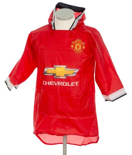 Manchester Utd. regnslag regnjakke regnfrakke