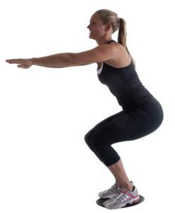 Balancebræt m/justerbar højde