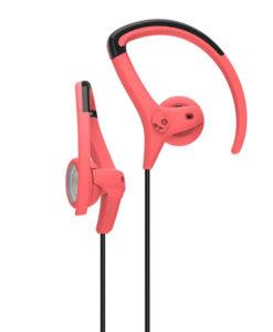 Skullcandy - Chops Bud hovedtelefoner - Hot Red/Black/Hot Red