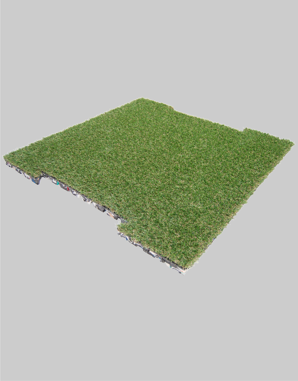 Kunstgræsflise til sport, have, altan, terrasse, legeplads m.m. 98x98 cm