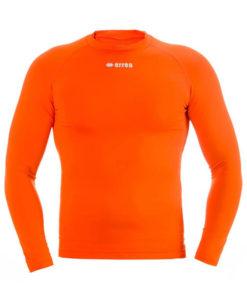 Svedundertrøje, langærmet, orange