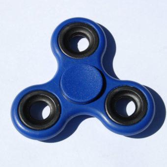 Fidget Spinner, blå
