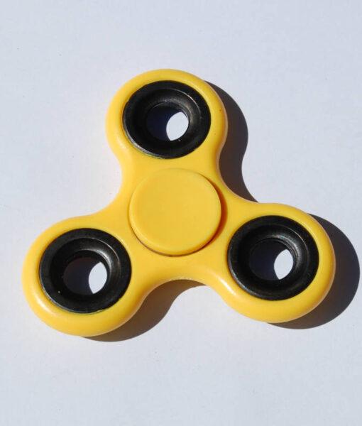 Fidget Spinner, gul