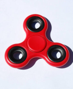 Fidget Spinner, rød