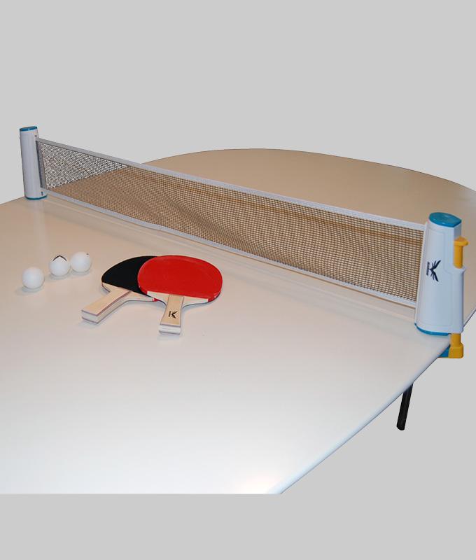 Storslåede Bordtennissæt - Komplet m/udtræksnet, bat og bolde QJ68